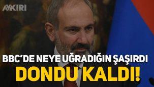 BBC'de Ermenistan Başbakanının zor anları: