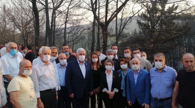 """CHP'li Ali Öztunç: """"Hatay birileri tarafından yakılıyor"""""""