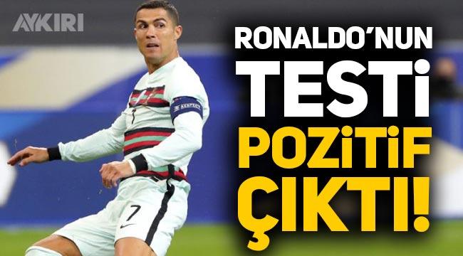 Cristiano Ronaldo koronavirüse yakalandı, Covid-19 testi pozitif çıktı