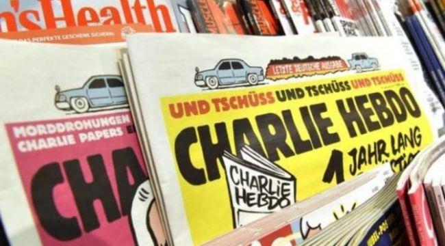 Cumhurbaşkanı Erdoğan'ı hedef alan Charlie Hebdo dergisi hakkında soruşturma