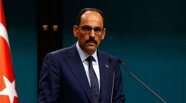 Cumhurbaşkanlığı Sözcüsü İbrahim Kalın koronavirüse yakalandı