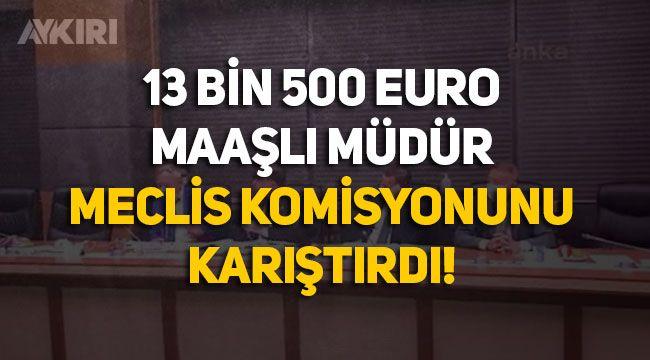 Devletin işlettiği Eti Maden'de 13 bin 500 Euro maaşlı müdür sorulunca Meclis komisyonu karıştı