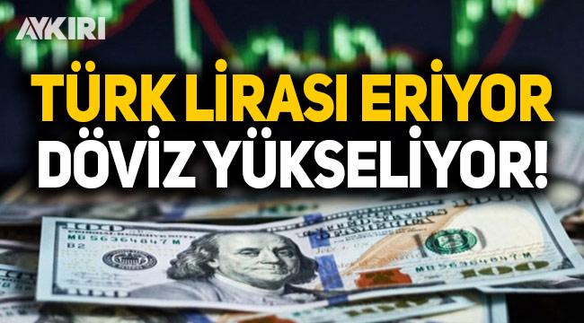 Dolardan yeni rekor 8.13 TL'ye yükseldi, Euro 10 TL'ye dayandı!