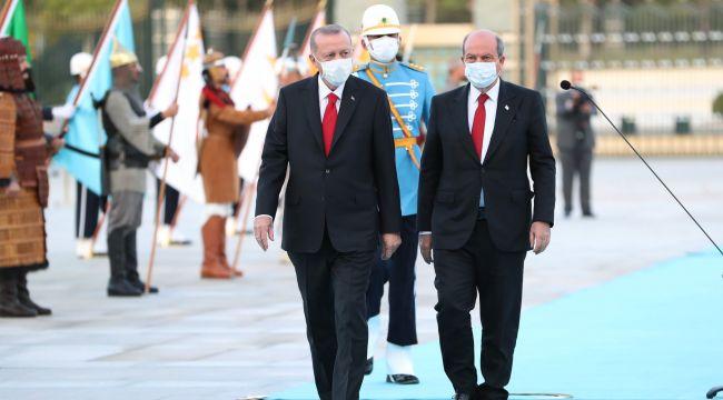 """Erdoğan'dan Çavuşoğlu'na """"Kapalı Maraş'ta diyorum bir piknik yapabiliriz"""""""