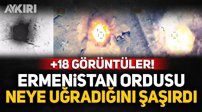 Ermenistan ordusu neye uğradığını şaşırdı! +18 görüntüler...