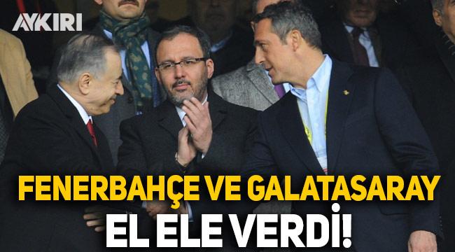 Fenerbahçe ve Galatasaray'dan loca işbirliği