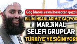 Fransa'nın derneğini kapattığı Selefi lider Türkiye'den sığınma talep etti, Göç İdaresi resmi hesaptan cevap verdi