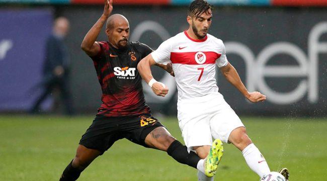 Galatasaray'da Marcao, Milli Takım futbolcusuna tokat attı, Tolunay Kafkas takımı sahadan çekti!