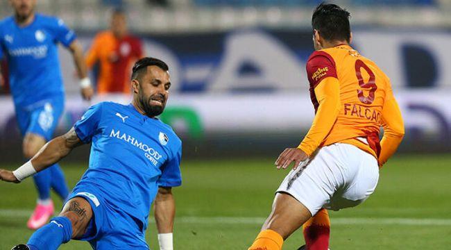 Galatasaray, deplasmanda Erzurumspor'u 2 golle mağlup etti