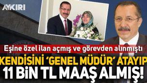 Görevden alınan Pamukkale Üniversitesi'nin Rektörü Hüseyin Bağ, kendisini 'Genel Müdür' atayarak 11 bin TL'lik maaş almış!