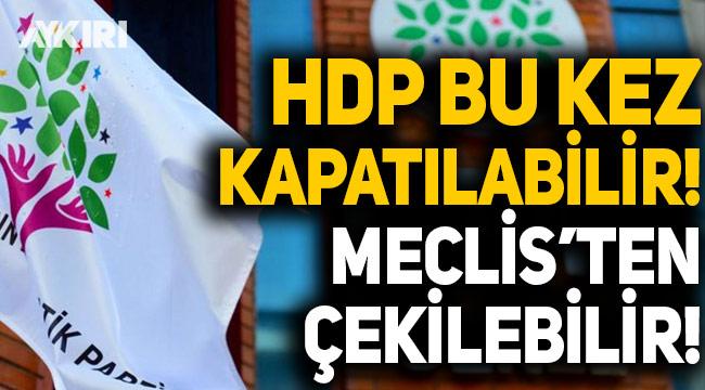 İsmail Saymaz: HDP bu kez kapatılabilir, TBMM'den çekilebilir