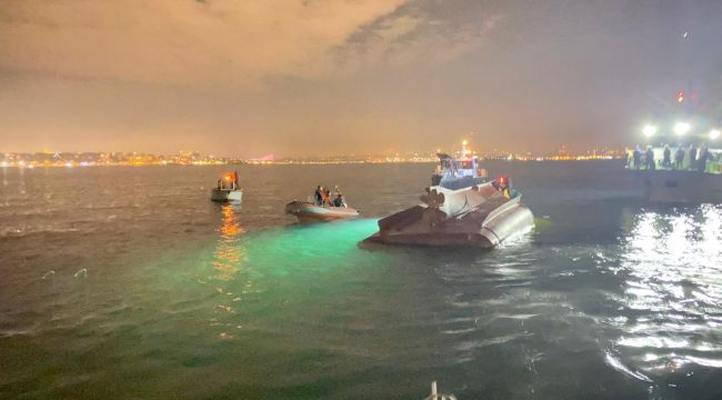 İstanbul'da balıkçı teknesi battı: 2 kişi öldü, 11 kişi yaralandı