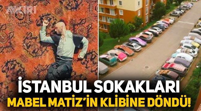İstanbul'daki dolu önlemleri Mabel Matiz klibini hatırlattı