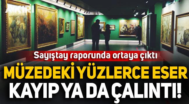 İstanbul Resim ve Heykel Müzesi'ndeki 404 eser kayıp 42'si sahte çıktı