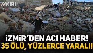 İzmir'de 6.9 şiddetinde deprem! 91 vatandaşımız vefat etti, yüzlerce yaralımız var!