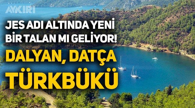 JES adı altında doğa harikası 32 nokta talana açıldı: Türkbükü, Dalyan, Datça...