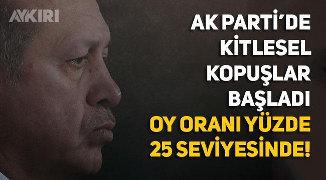 """KONDA'dan çarpıcı iddia: """"AK Parti'nin oy oranı yüzde 25 bandında"""""""