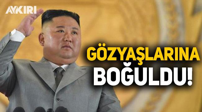 Kuzey Kore lideri Kim Jong-Un ağlayarak özür diledi