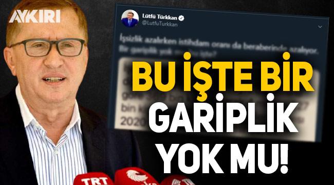 Lütfü Türkkan: Bir gariplik yok mu bu işte?