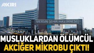Mersin Şehir Hastanesi'nin musluklarında ölümcül akciğer mikrobu tespit edildi