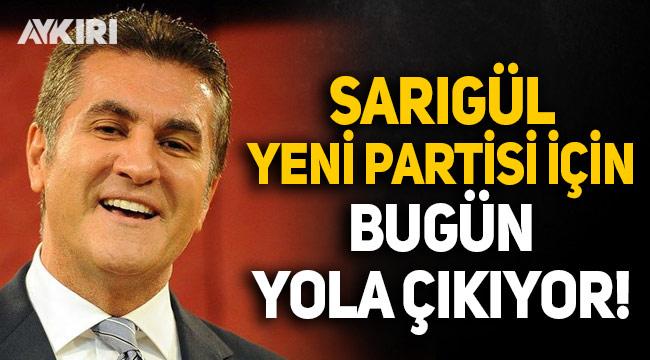 Mustafa Sarıgül yeni partisi için bugün yola çıkıyor: Ankara'da genel merkez binası tutuldu