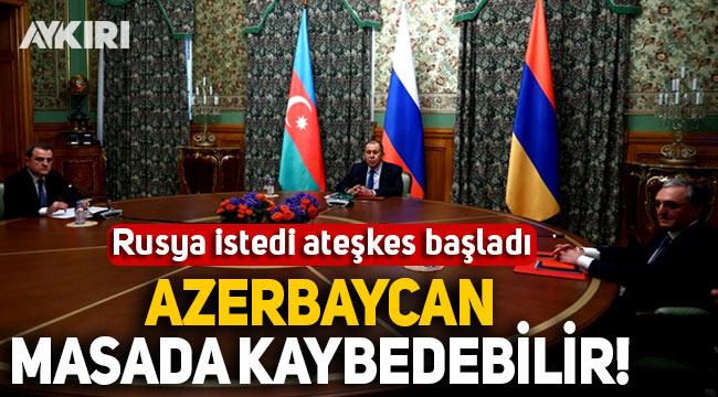 Rusya istedi, Azerbaycan ve Ermenistan ateşkesi başladı!