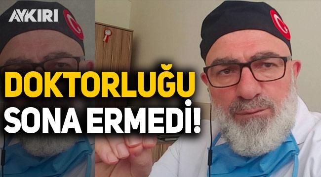 Saygı Öztürk: GATA Başhekim Yardımcısı Ali Edizer'in doktorluk mesleği sonlandırılmadı