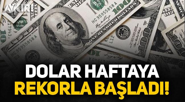 Tarihi zirve: Dolar 8 lirayı aştı