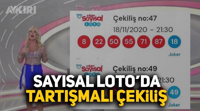 """2 Sayısal loto çekilişinde 6 sayıdan 4'ü aynı geldi CHP milletvekili """"5 trilyonda 1 ihtimal"""" dedi"""
