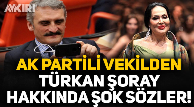 AK Partili Ahmet Hamdi Çamlı'dan Türkan Şoray'a şok sözler!