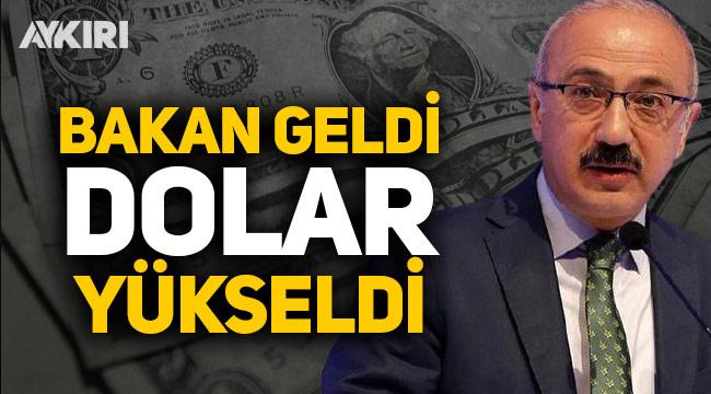 Albayrak'ın istifasının ardından Lütfü Elvan geldi: Dolar ve Euro'da son durum