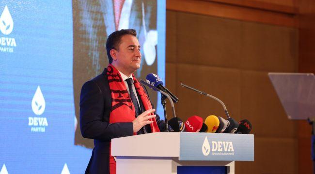 """Ali Babacan: """"Bu ülkede kürtçe ana dilini konuşmak isteyen milyonlarca insan var"""""""