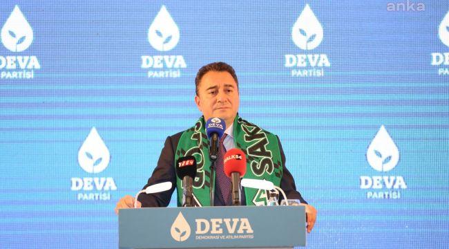 """Ali Babacan: """"Ülkeyi korkutarak yönetiyorlar"""""""