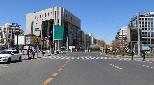 Ankara'da sokağa çıkma yasağı