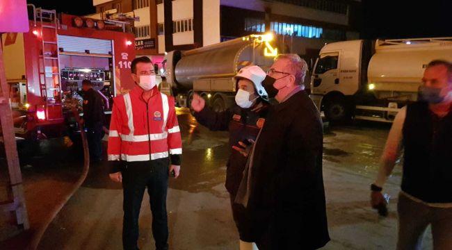 Ankara Siteler'de yangın çıktı: Mansur Yavaş bölgeye giderek ekiplerden bilgi aldı