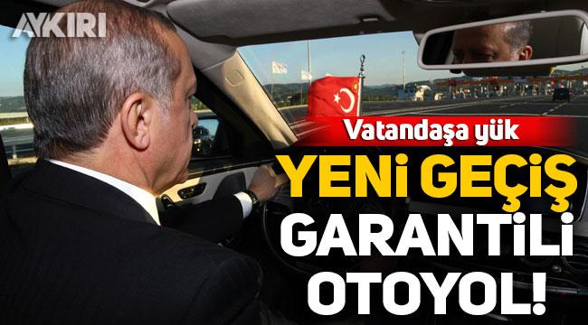 Araç geçiş garantili Aydın-Denizli Otoyolu için imzalar atıldı!