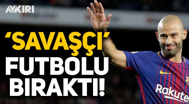 Arjantinli Javier Mascherano futbolu bıraktığını açıkladı!