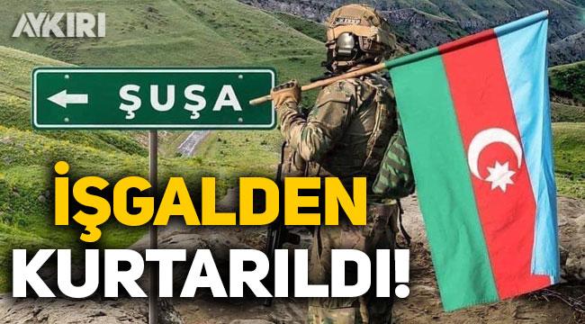 Azerbaycan ordusu, Şuşa'yı Ermeni işgalinden kurtardı!