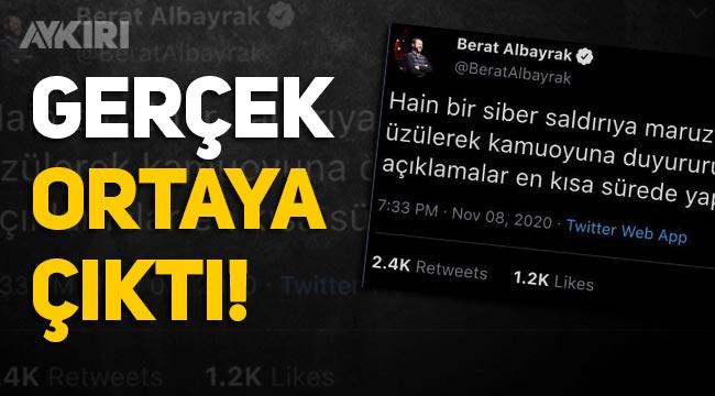 Berat Albayrak adına atılan tweet görseli sahte çıktı