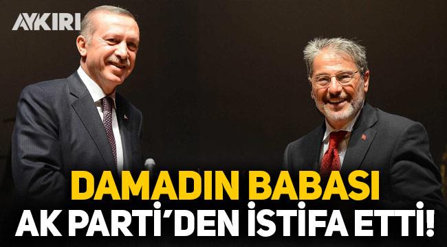 Berat Albayrak'ın babası AK Parti'den istifa etti!