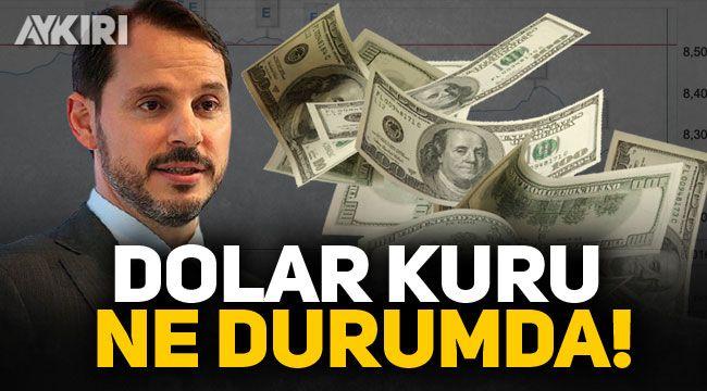 Berat Albayrak'ın istifası ardından dolar kuru ne durumda?