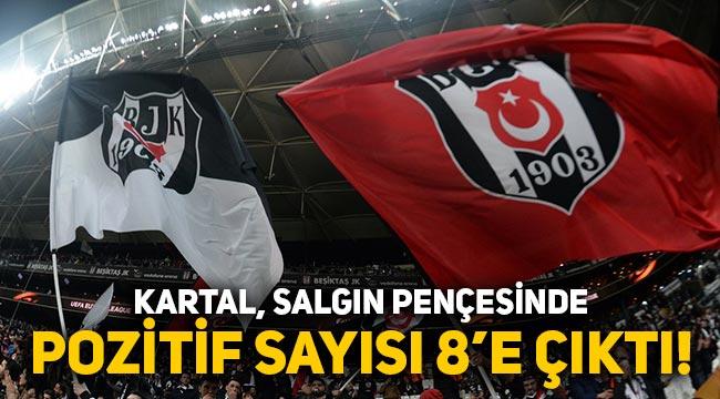Beşiktaş'da koronavirüslü futbolcu sayısı 8'e yükseldi