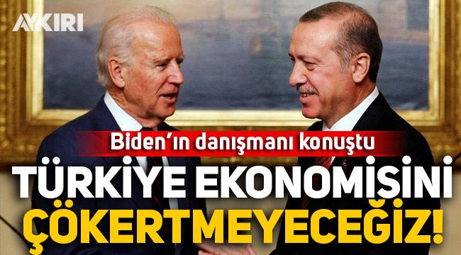 Biden'ın danışmanı Carpenter: Türkiye ekonomisini çökertmeyeceğiz