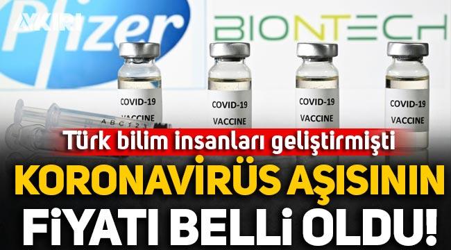 BioNTech ve Pfizer'ın koronavirüs aşısının fiyatı belli oldu!