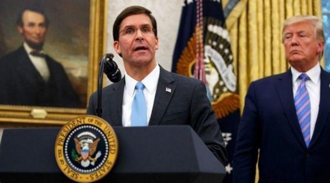 Donald Trump, Savunma Bakanı Mark Esper'i görevden aldı