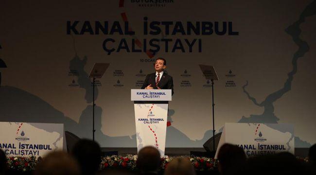 """Ekrem İmamoğlu: """"Eylül uyusun, siz uyanın. Ya Kanal Ya İstanbul"""""""