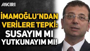 Ekrem İmamoğlu: İstanbul'daki vefat sayısı 186; susayım mı, yutkunayım mı?
