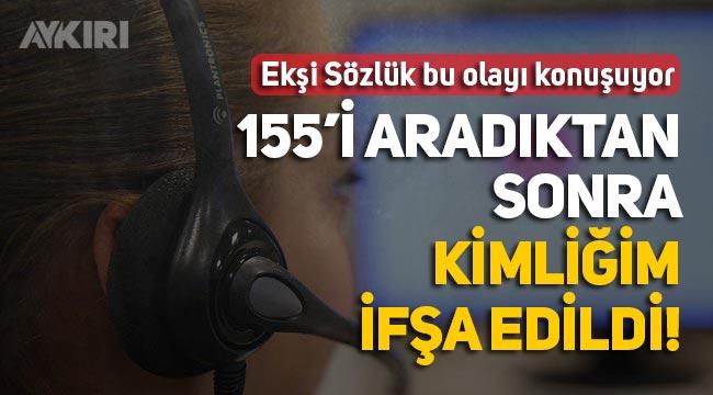 """Ekşi Sözlük'te çarpıcı iddia: """"Polis, ihbar edeni zanlıya ifşa etti"""""""