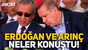 Erdoğan ve Bülent Arınç neler konuştu, istifa nasıl gerçekleşti