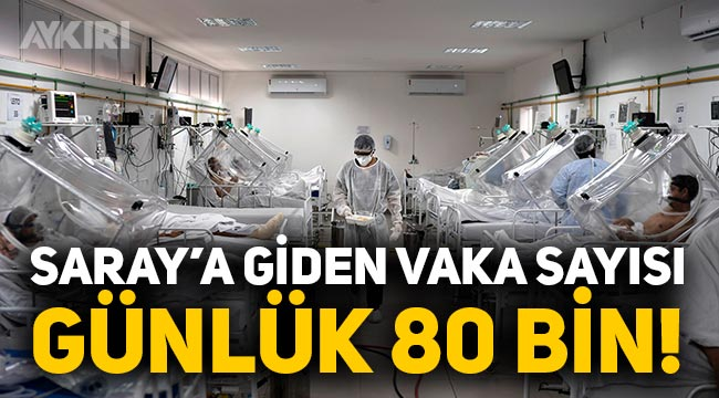 Gerçek vakalar hala gizleniyor mu, Türkiye geneli vaka sayısı günlük 80 bin iddiası